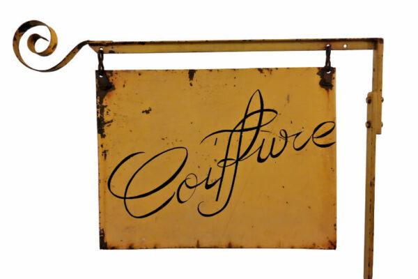 Uithangbord Coiffure – Foto 1
